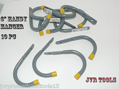 "10 Pc 6"" GIANT Storage Handy Hanger Hooks Garage Home Shop H"