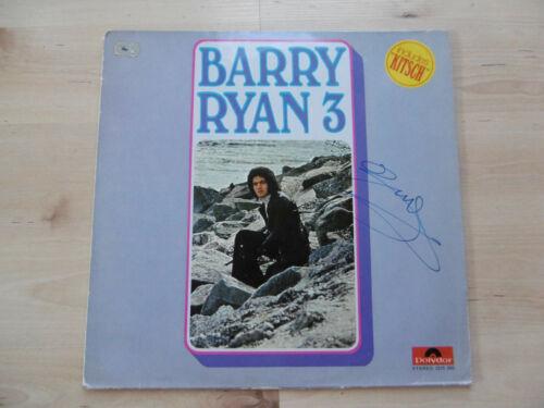 "Barry Ryan Autogramm signed LP-Cover ""Barry Ryan 3"" Vinyl"