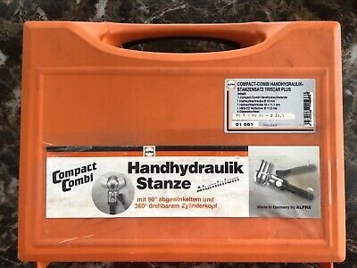 Alfra Compact Combi Hand Hydraulic Punch Klein Tools Dies Punch 12 - 2