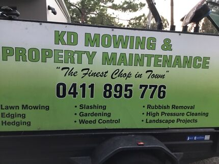 KD Mowing & Property Maintenance