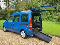 Renault Kangoo Auto + Wheelchair Accessible Vehicle Transfer to Drive Upfront