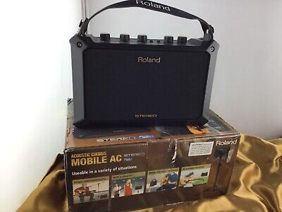 Roland Acoustic Chorus Mobile AC 5 Watts Stereo Amplifier - USED