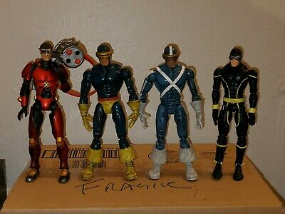 Marvel Legends  Cyclops Figure Lot of 4 X-Men Free Shipping