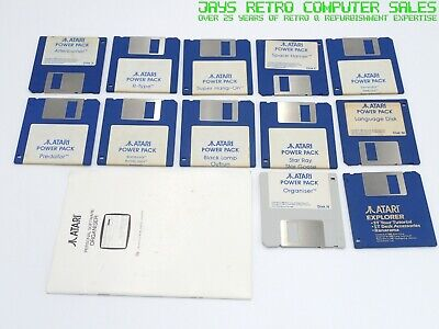 17x GAMES - ATARI ST POWER PACK BUNDLE GAMES JOBLOT COLLECTION - TESTED SOFTWARE