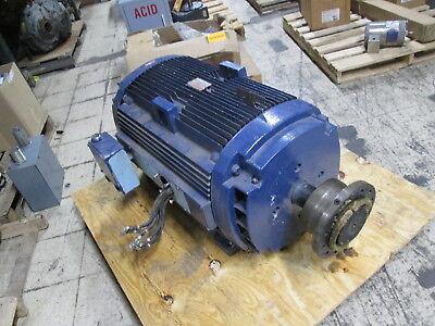 Ge Ac Motor Sks449al2009m 300hp 1800rpm 480v 346a Fr 449t Used