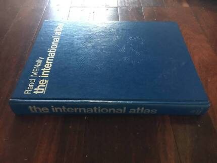 Vintage Rand McNally International Atlas, 1978 Edition