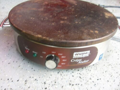 """Waring WSC160 Commercial Electric 16"""" Crepe Maker"""