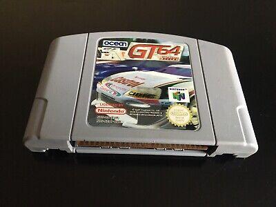 GT 64 CHAMPIONSHIP EDITION NINTENDO 64 N64 PAL EUR