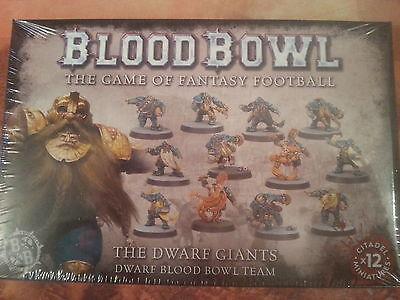 BLOOD BOWL DWARF GIANTS DWARF TEAM - NEW & SEALED