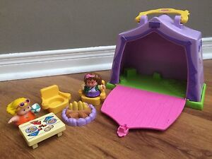 Fisher Price Little People Camping Set