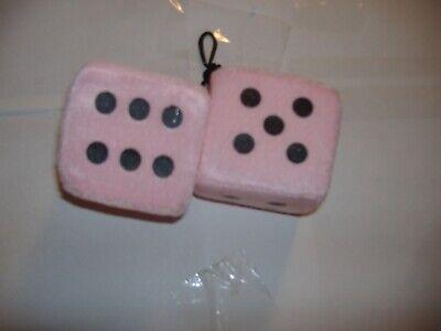 Fuzzy Pink Dice ( FUZZY DICE  3