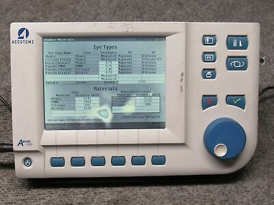 Accutome A-scan Plus Ref 24-4000 Amplitude Scan Ophthalmic Ultrasound Working