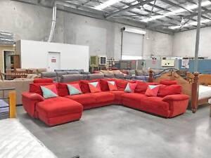 DELIVERY TODAY BEAUTIFUL U shape corner sofa lounge