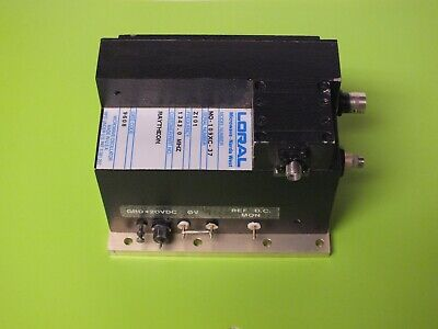 Loral Microwave Narda West Mo-109xc-37 Oscillator Freq 1343.0 Mhz Nos