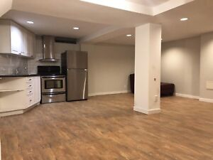 2 bedroom fully renovated basement apartment