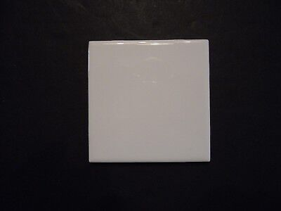 Ice White Glazed Ceramic Wall Tile 4 1/4 x 4 -
