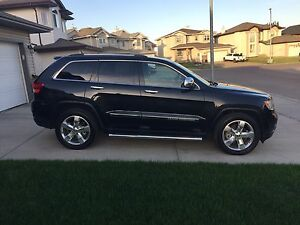 2012 Jeep Grand Cherokee Overland with 5.7L Hemi