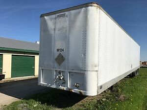 48 FT. STORAGE TRAILER FOR SALE. KINGSTON ONTARIO.
