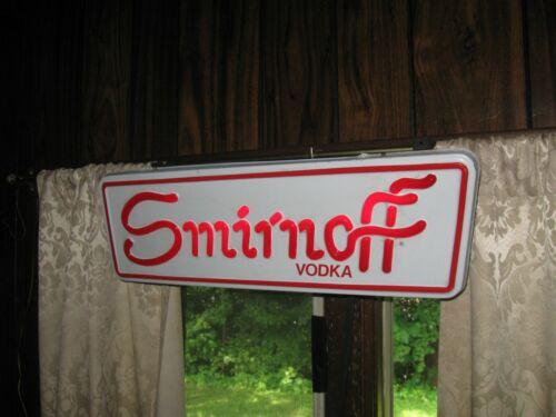 Vintage Smirnoff Vodka Lighted Sign