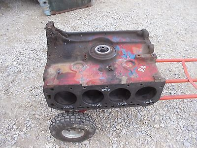 Ford 960 Gas Tractor Original Good 4 Cylinder Engine Motor Block