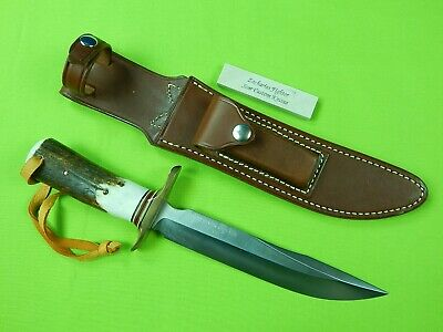 Rick Schuchmann SCAR RANDALL Scagel Zacharias Fighter 030 Type Bowie Stag Knife