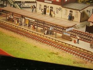 Faller H0 B-191 schmaler langer Bahnsteig 41,7 cm lang Bausatz NEU