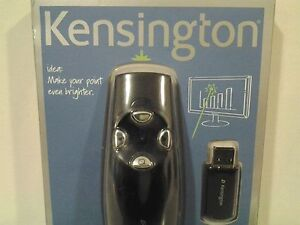 New Kensington Wireless Presenter Pro with Green Laser