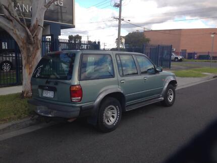 1998 Ford Explorer Wagon Elwood Port Phillip Preview