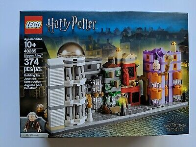NEW 40289 LEGO Harry Potter Diagon Alley Retired Limited Edition Rare Sealed