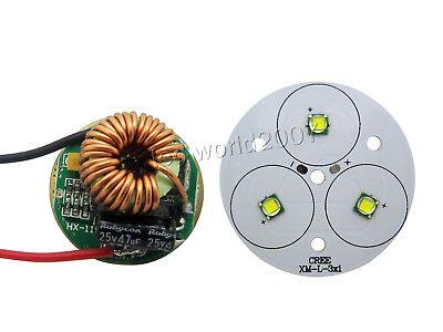 30w 30 Watt Cree Xlamp Xm-l Xm-l2 White Led 5 Mode Driver For Torch Flashlight