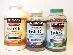 Kirkland signature fish oil 1000mg 1200mg enteric coated for Kirkland fish oil review