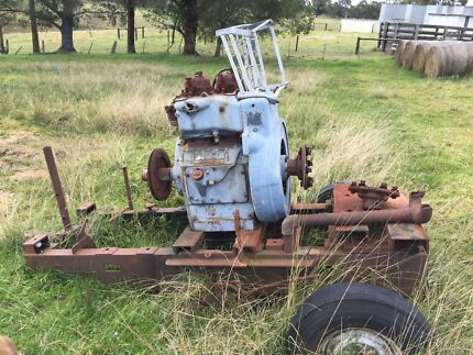Vintage southern cross Diesel engine   Nicholson East Gippsland Preview