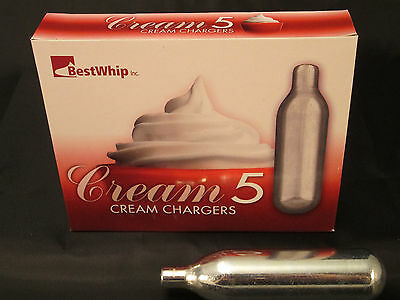 50 DOUBLE-SIZE 16g Best Whip Cream Chargers N2O SUPER  16 gram N20 10 boxes of 5