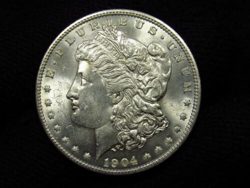 1904-O Morgan Silver Dollar CHOICE BU #2