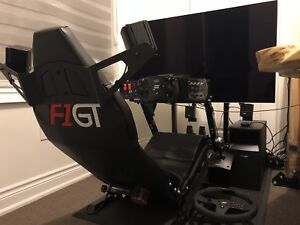 Full Racing Simulator Setup- All new Fanatec