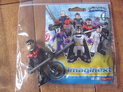 Fisher Price Imaginext RED NIGHTWING Series 1 DC Super Friends NEW