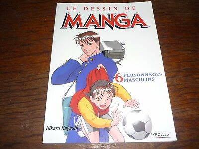 Le dessin de manga 6 personnages masculins