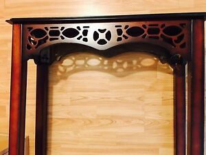 BOMBAY  Foyer End Table Console Accent Espresso Furniture London Ontario image 2