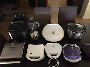 Assorted kitchen appliances. Port Noarlunga South Morphett Vale Area Preview