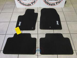 JEEP Grand Cherokee 2011-2012  Black Premium Floor Mats NEW OEM MOPAR