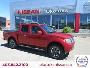 2015 Nissan Frontier PRO-4X HEATED LEATHER, NAVIGATION, SUNROOF