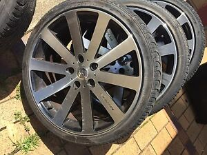 "19"" PDW Mag Rims Wheels with Tyres to suit Holden Wynnum Brisbane South East Preview"