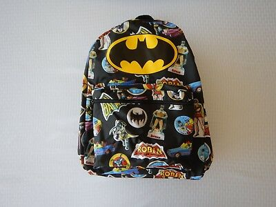 Batman Robin Justice League DC Boys Girls Youth Kids Bookbag School Backpack](Batman And Robin Girls)