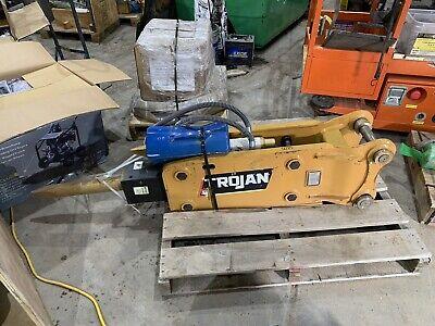 Trojan Th50 Hydraulic Mini Excavator Hammer 45 Mm Pins Cat 305 306 Volvo New