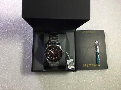 NEYMAR  Automatic 300m Diver's Watch BLK Bezel  Tudor Black Bay Style  New.