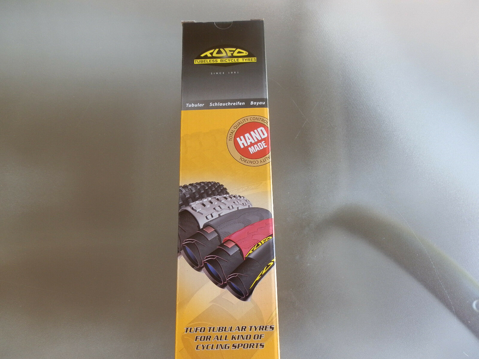 Tufo Elite Ride tubular 700 x 25 all black NEW 2019 2 tires WHITE TUFO LABEL