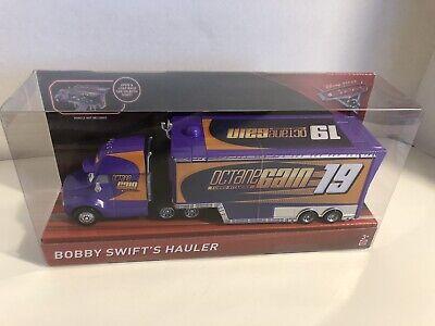 BRAND NEW DISNEY PIXAR CARS 3 - BOBBY SWIFT'S HAULER