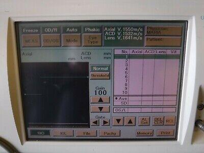 Nidek A-scan Pachymeter Us-1800 Echoscan Touchscreen