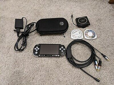 Sony PSP 3000 3001Playstation Portable Great Condition with Extras