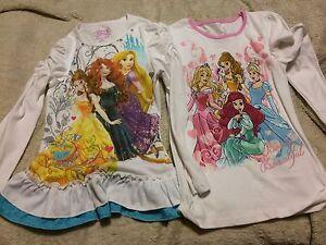 Disney Princess LS shirts